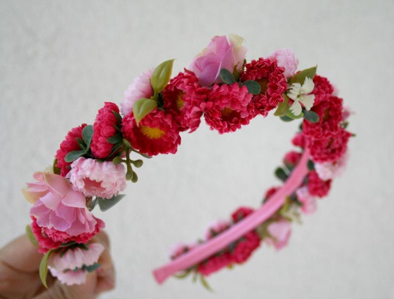 Kvetinové čelenky - Obrázok č. 3