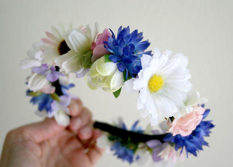 Kvetinové čelenky - Obrázok č. 6