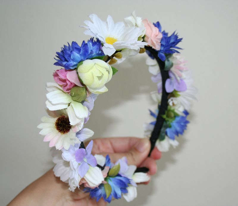 Kvetinové čelenky - Obrázok č. 8