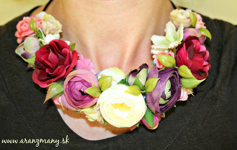 Kvetinové čelenky - Obrázok č. 10