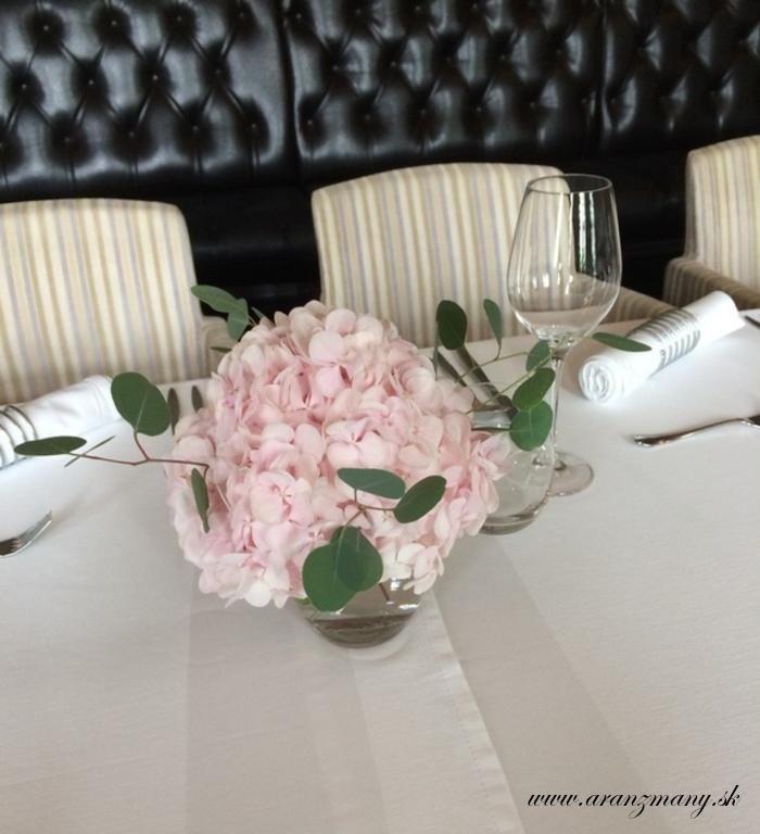 Elegantná svadobná kytica z hortenzií a frézií - Obrázok č. 3