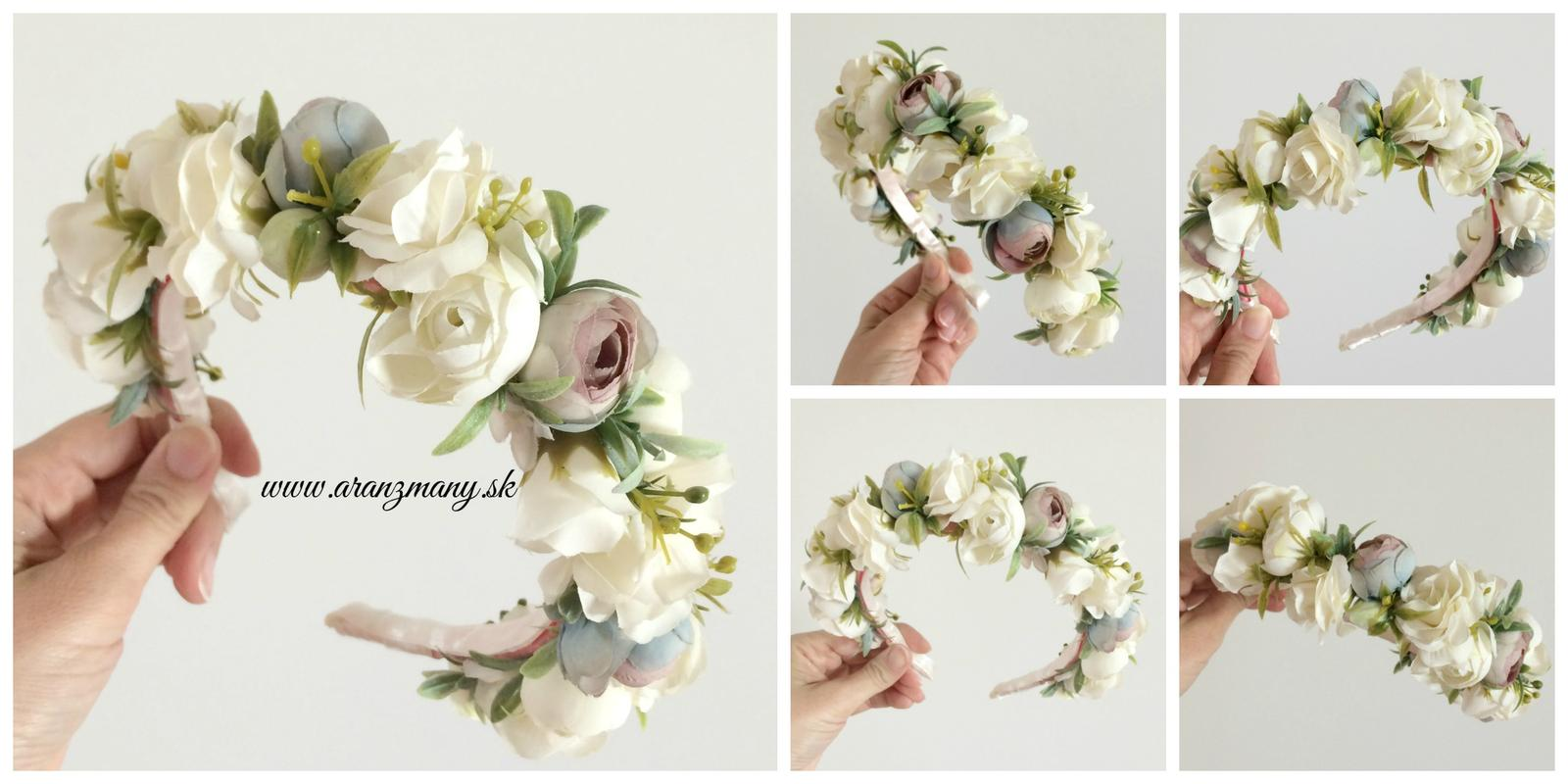 Kvetinové čelenky - Obrázok č. 15