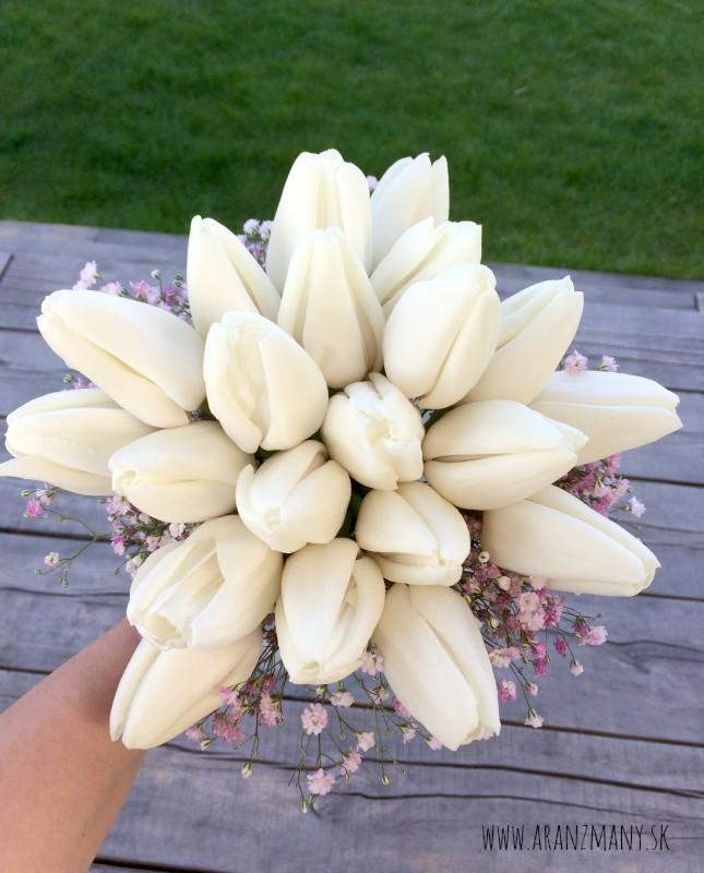 Svadobná kytica z tulipánov - Obrázok č. 2
