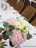 Svadobná kytica z hortenzii