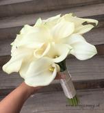 svadobna kytica biele kaly