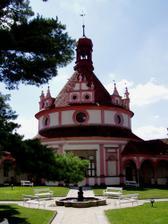 místo obřadu venku - Rondel Jindřichohradeckého zámku