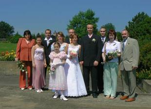naše společná rodinná fotografie