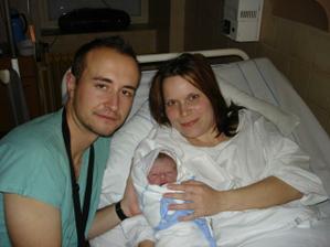 27.10.2007 se nám narodilo našeštěstí-syn Dominik