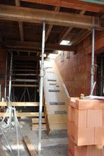 Budoucí schody do podkroví