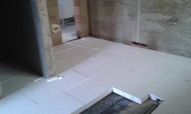 Začínáme izolace podlah-koupelna