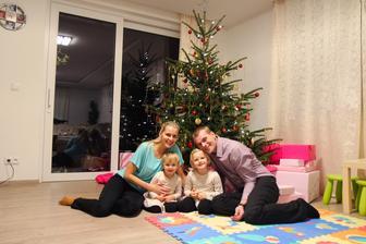 Kdo si počká, ten se dočká aneb naše první Vánoce v novém domově