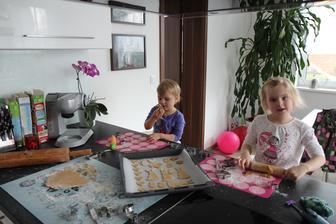 Naše první Velikonoce na domečku