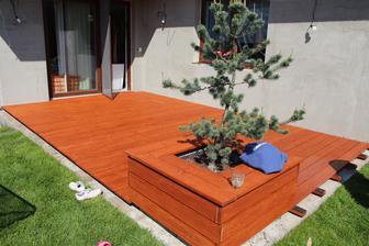 Akce terasa pro letošek zakončena :-D Pokračování příští rok s bazénem...:-)