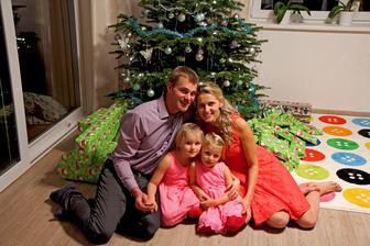 Druhé Vánoce na domečku - letí to ;-)