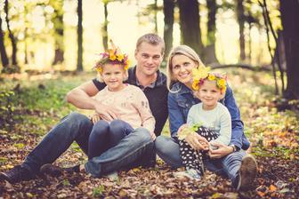 Už je na čase obměnit fotoplátna v domě...takže naše aktuální podzimní :-)