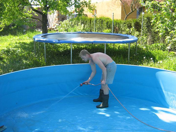 Tak jde čas aneb jak si stavíme sen :-) - Příprava na letní sezónu