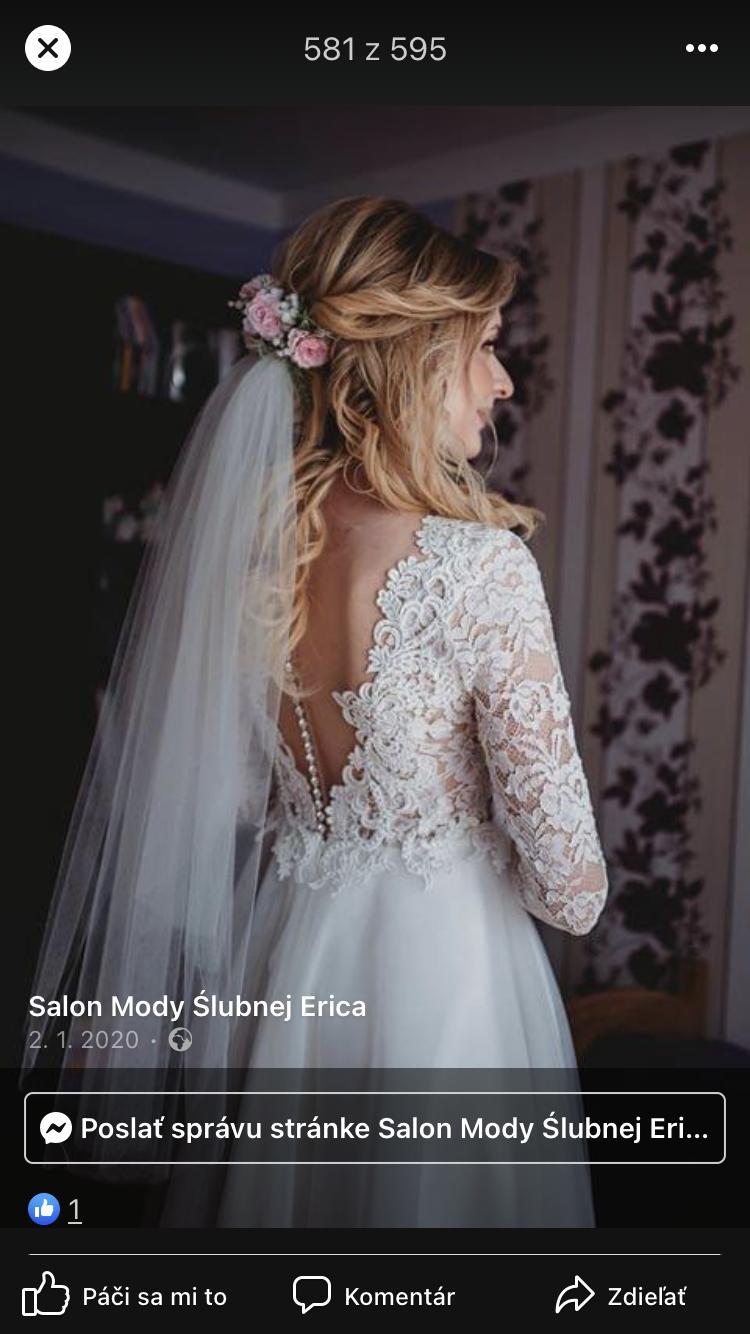Nepoužité svadobné šaty - Obrázok č. 1