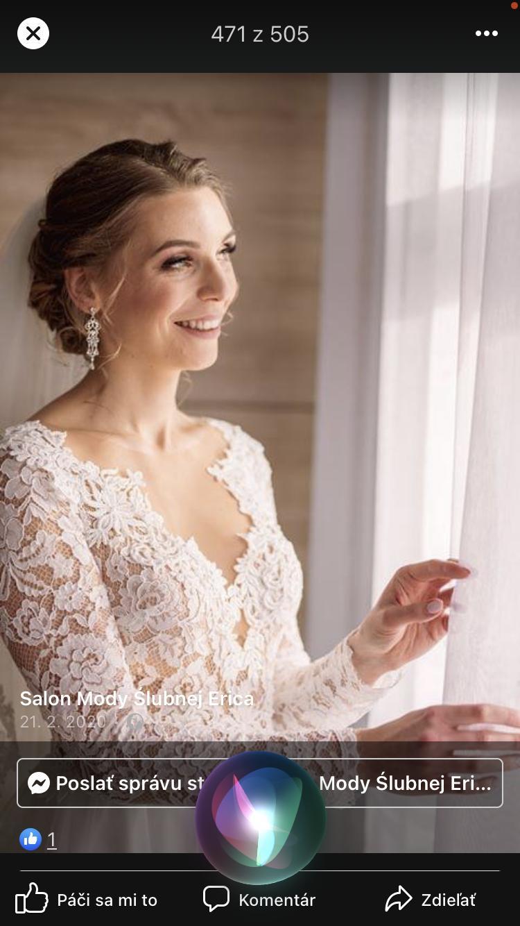 Nepoužité svadobné šaty - Obrázok č. 2