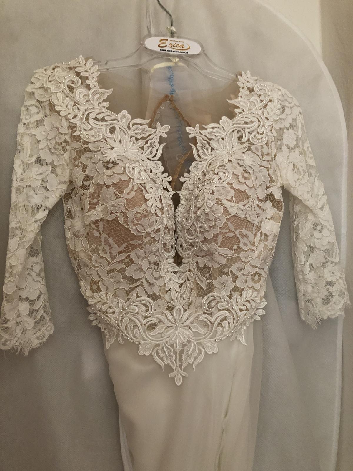 Nepoužité svadobné šaty - Obrázok č. 3