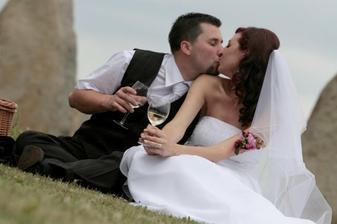 romantika s vínem..