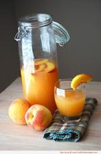 Broskynovo-mrkvova limonada