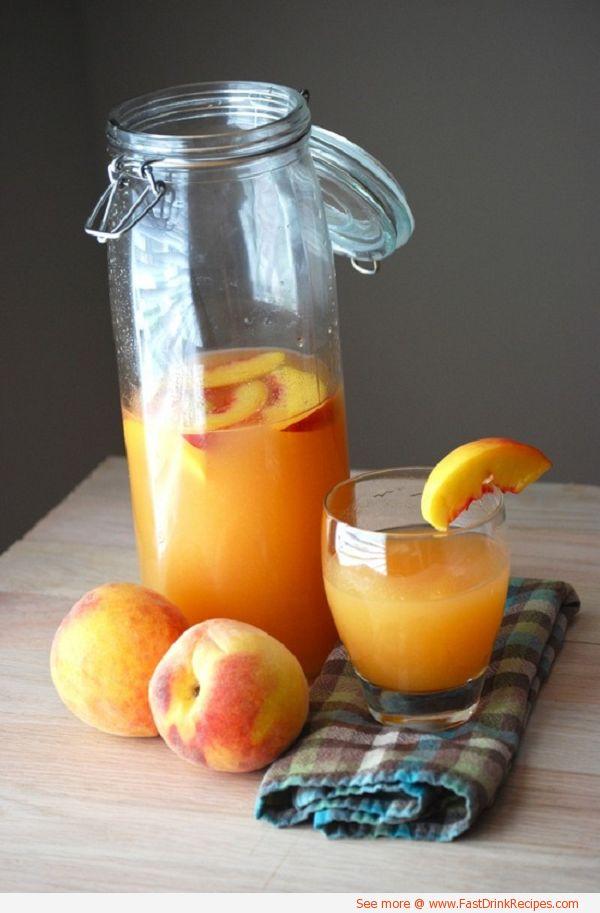 Domace limonady do Candy Baru - Broskynovo-mrkvova limonada