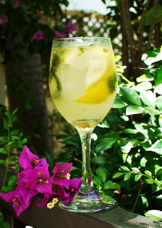 Domace limonady do Candy Baru - Mätova limonada