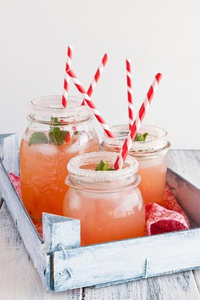 Domace limonady do Candy Baru - Pomarancova limonada