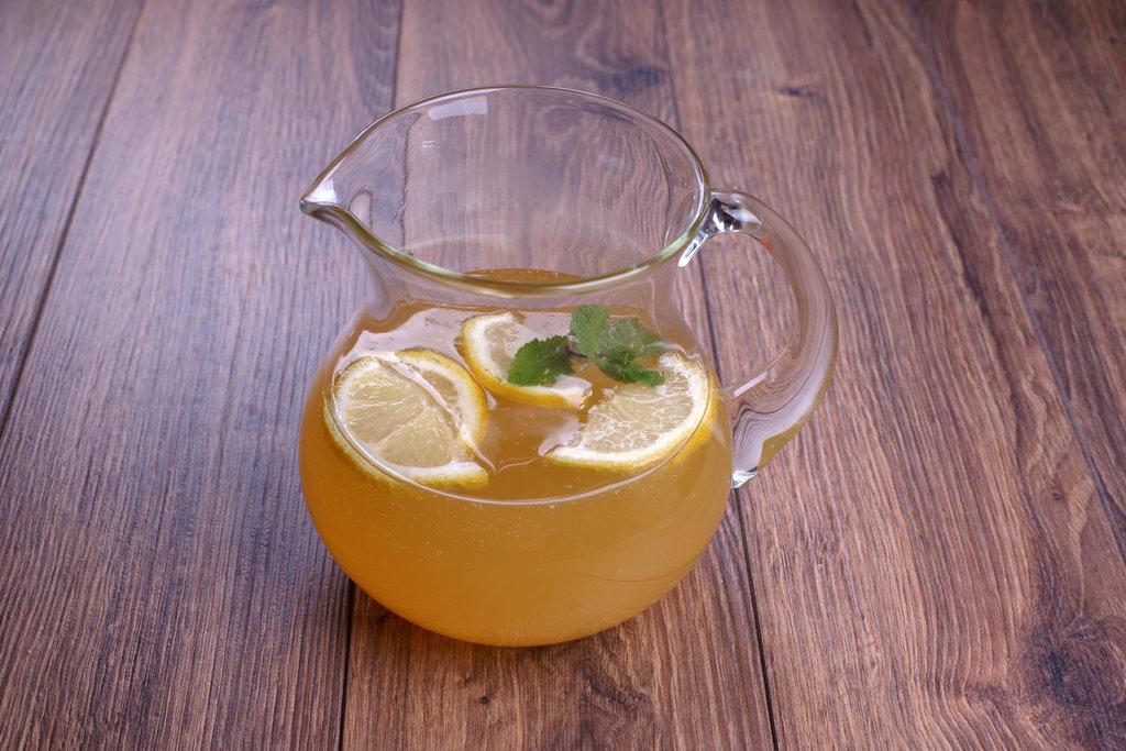 Domace limonady do Candy Baru - Mätová limonáda so zeleným čajom