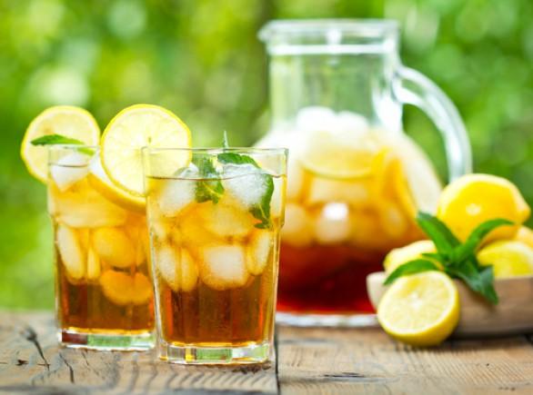Domace limonady do Candy Baru - Domáci Ice Tea