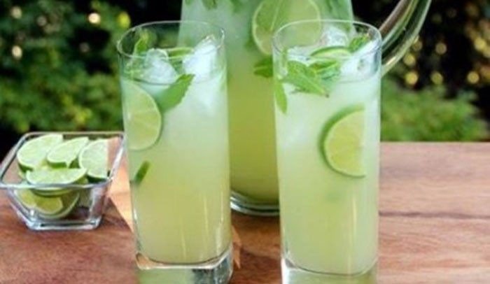 Domace limonady do Candy Baru - Limetková limonáda