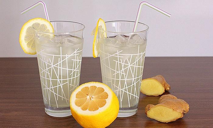 Domace limonady do Candy Baru - Zázvorová limonáda s citrónom