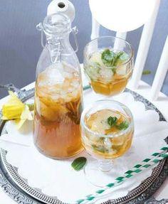 Domace limonady do Candy Baru - Domáci ľadový čaj