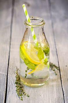 Domace limonady do Candy Baru - Timianová limonáda