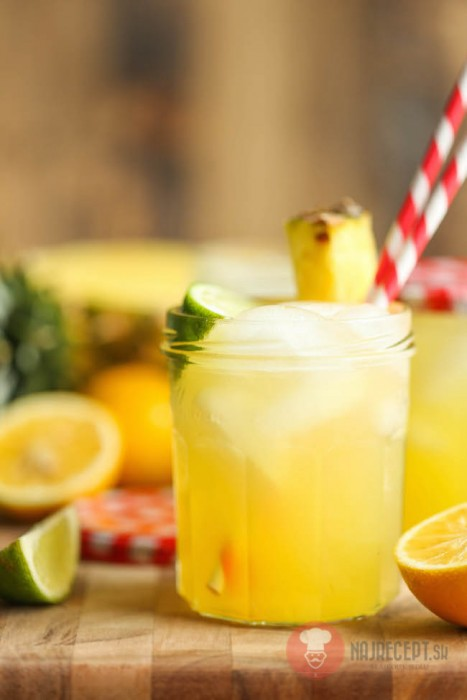 Domace limonady do Candy Baru - Ananásová limonáda