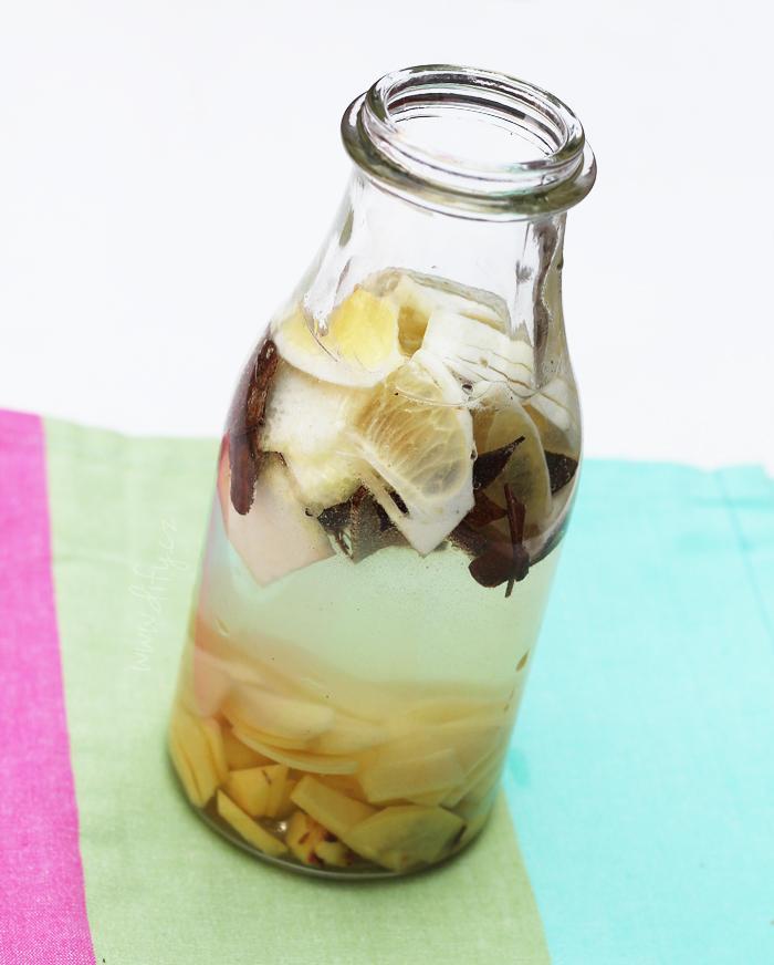 Domace limonady do Candy Baru - Zázvorová limonáda so škoricou