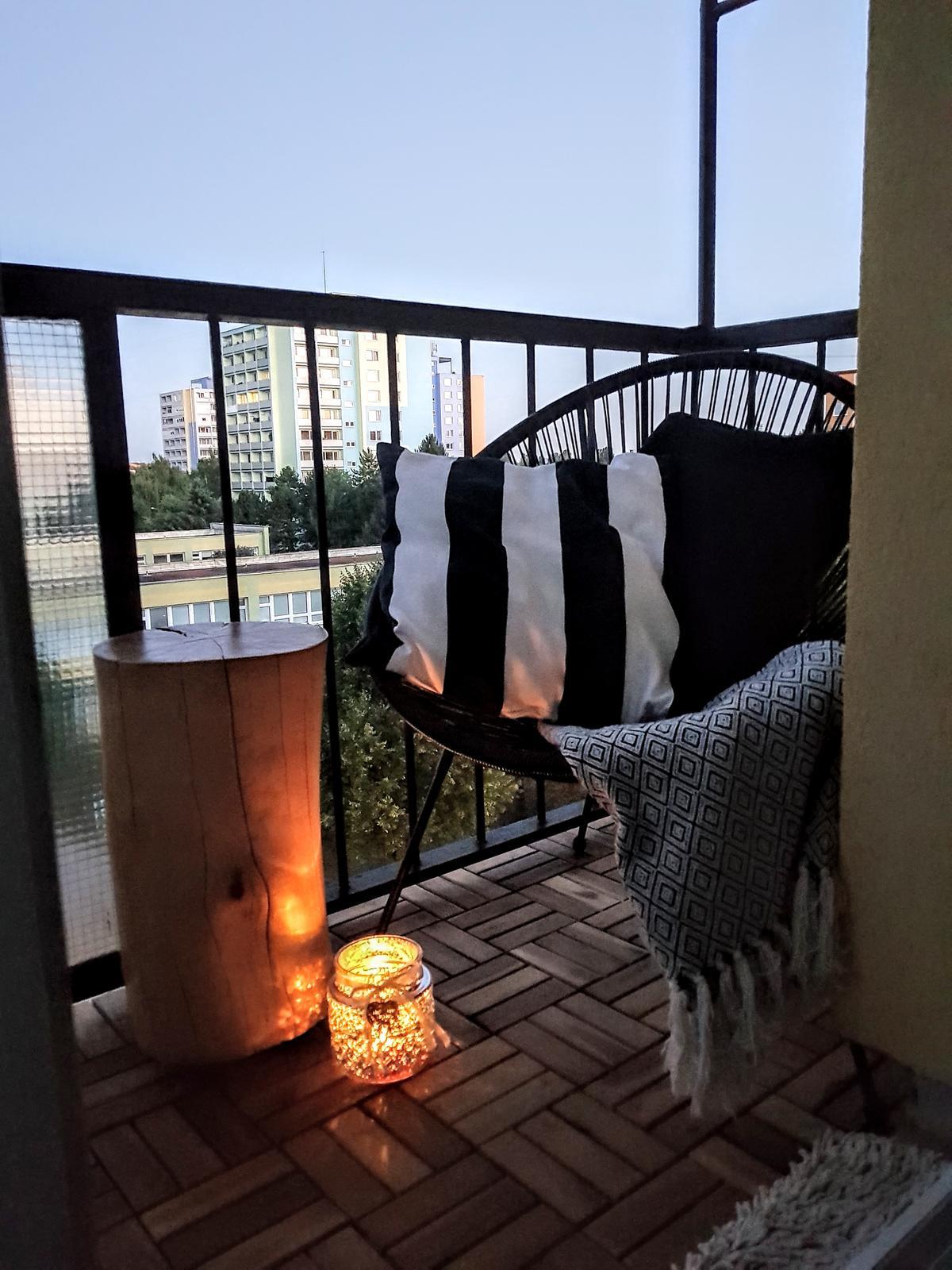 🖤 keď drobnosti robia radosť 🖤 - večerná pohodička na balkone