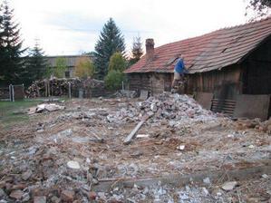 2007.10.21 spust po drevenici