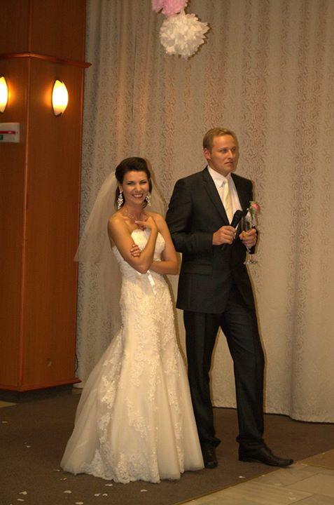 Prvé svadobné foto - môj miláčik