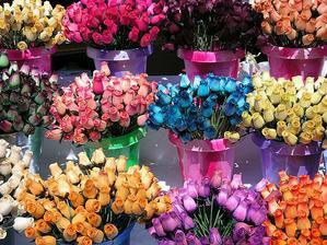 Drevené kvety