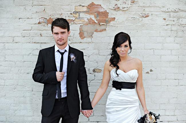 Black & White Weddings - No.8