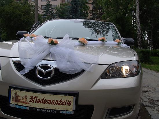 Valéria Košková{{_AND_}}Štefan Takač - svadobné auto