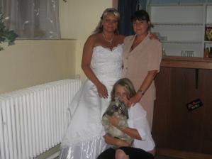 S mamčou a s Eliškou