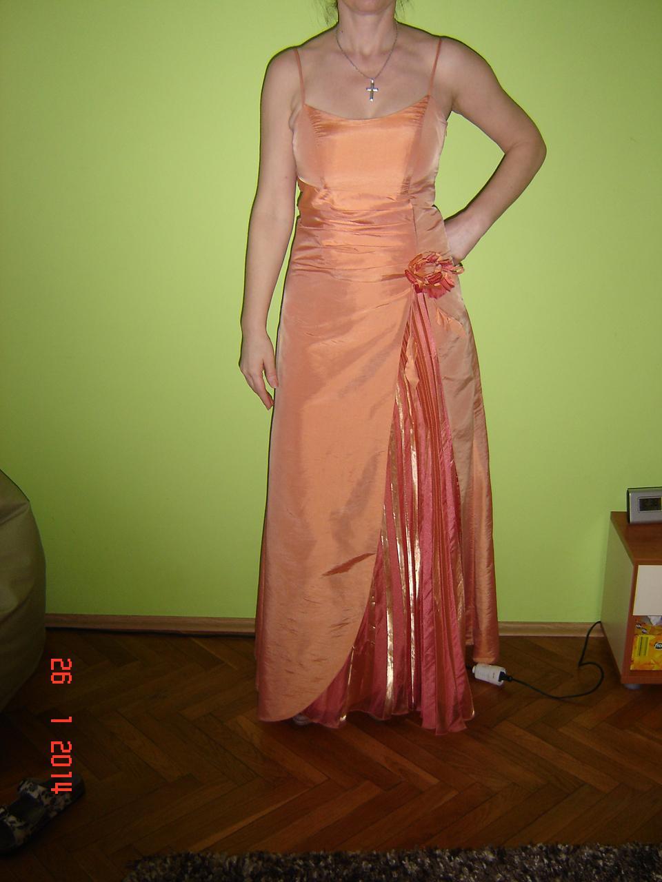 spoločenské šaty č.38 - Obrázok č. 1