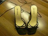 sandále s viazaním okolo nohy, 35
