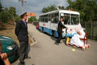 náš autobus ROH a zkouška zručnosti