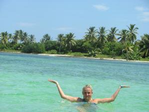 Karibské pláže opuštění nádhera