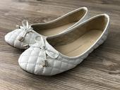 Biele balerinky s maslickou, 39