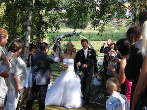 Už manželé :-)