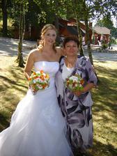 Nevěsta s mamkou :-)